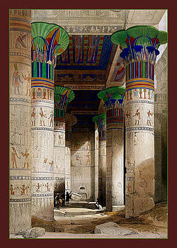 Egyptian Temple No 8 by Robert G Kernodle