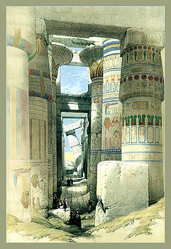 Egyptian Temple No 9 by Robert G Kernodle