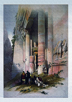 Egyptian Temple No.2 by Robert G Kernodle