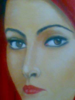 Egyptian Woman Face Details by Tamer Elsamahy