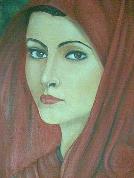 Egyptian Woman Face by Tamer Elsamahy
