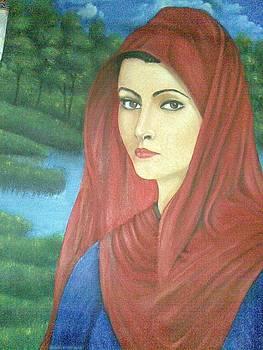 Egyptian woman by Tamer Elsamahy