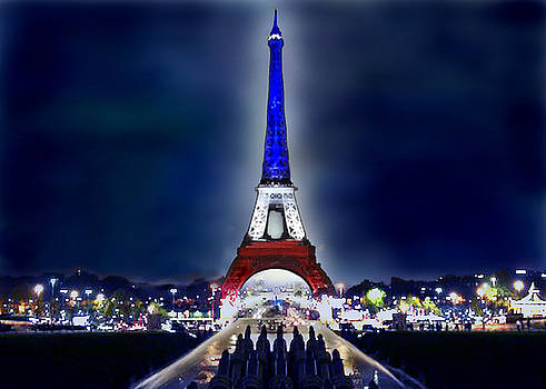 Eifeel Tower - Paris by Carol Tsiatsios