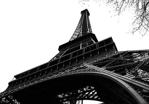 Eiffel from an Angle by Joshua Francia