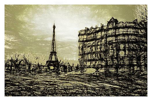 Eiffel Sketch by Chris  Hood