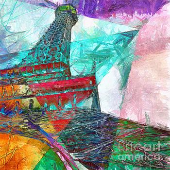 Edward Fielding - Eiffel Tower Abstract