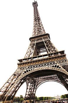 Eiffel Tower Askew by Vicki Jauron