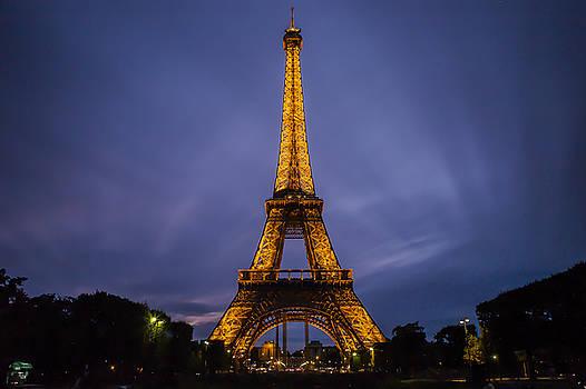 Eiffel Tower at Dusk by Ryan McKee