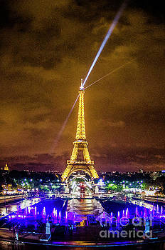 Julian Starks - Eiffel Tower at Night #2