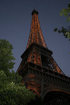 Eiffel Tower Come to Life by Melissa Frazier