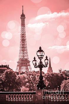 Delphimages Photo Creations - Eiffel tower dreamy pastel