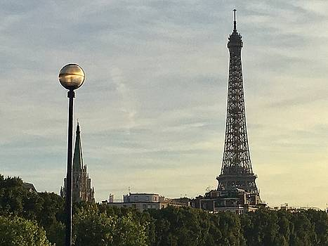 Eiffel Tower from the Seine  by Daniele Smith
