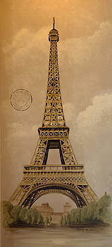 Eiffel Tower by Holly Whiting
