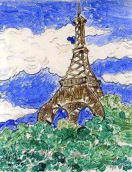 Eiffel Tower II by Suzanne Blender