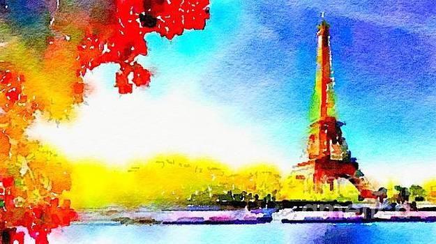 Rich Governali - Eiffel Tower in Fall