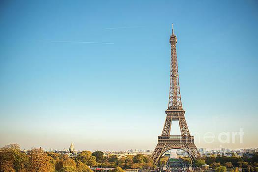 Eiffel Tower in the Sun by Sonja Quintero