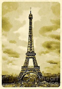 Eiffel tower by Isabel Poulin