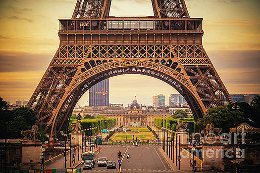 Eiffel Tower by Katya Horner