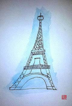 Eiffel Tower by Margaret Welsh Willowsilk