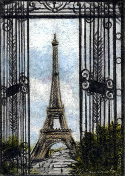 Eiffel Tower by Melissa J Szymanski