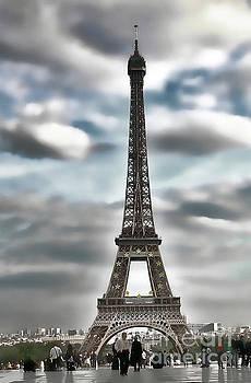 Chuck Kuhn - Eiffel Tower Misty Moods