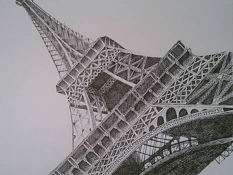 Eiffel Tower by Nicholas Gratzl