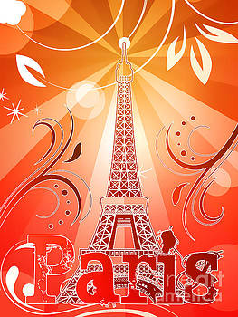 Eiffel tower by Sandra Hoefer