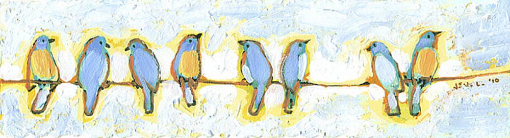 Eight Little Bluebirds by Jennifer Lommers