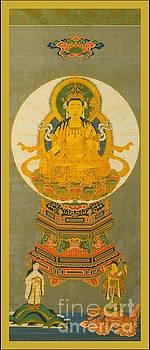 Eighteenth Century Japanese Gilt Seated Buddha by Peter Ogden