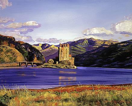 Eilean Donan Castle by David Lloyd Glover