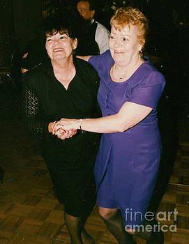 Eileen Ryan and Joan Fagan at Als and Lisa Wedding by John Ryan