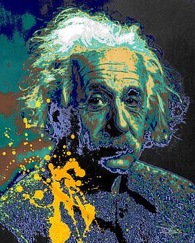 Einstein Green by Piro