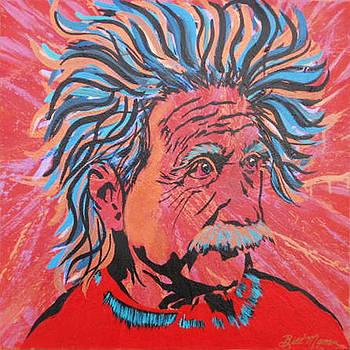 Einstein-In the Moment by Bill Manson