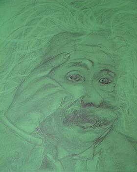 Einstein by Manuela Constantin