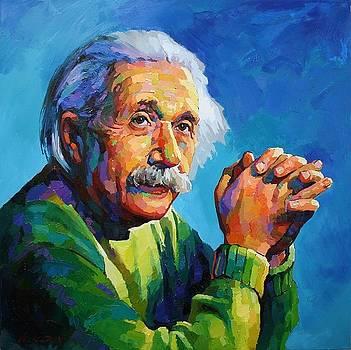 Einstein by Vadim Makarov
