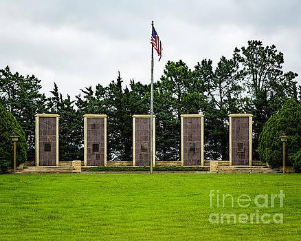 Jon Burch Photography - Eisenhower Museum W W I I Memorial