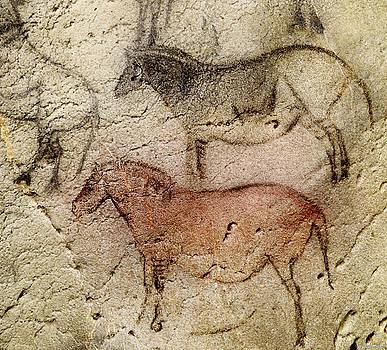Weston Westmoreland - Ekain Cave Two Horses