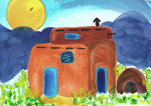 El Adobe New Mexico by Lorraine