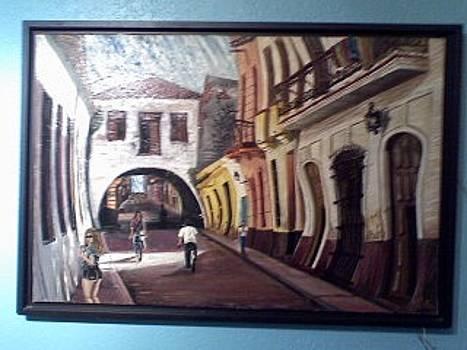 El Arco De Belen by Celestino Hernandez
