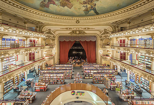 El Ateneo Grand Splendid by Silke Tuexen