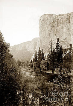 California Views Mr Pat Hathaway Archives - EL CAPITAN, FROM THE EAST.  Yosemite Valley, circa 1908