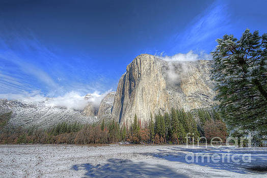 Wayne Moran - El Capitan Meadow Winter Yosemite National Park II