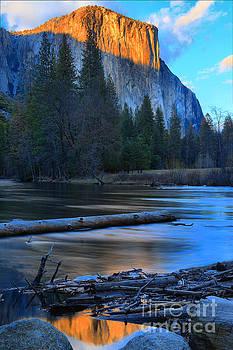 Adam Jewell - El Capitan Sunset Reflections