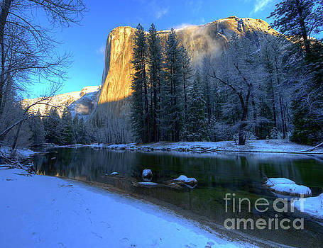 Wayne Moran - El Capitan Winter Yosemite National Park II