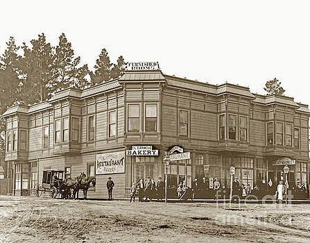 California Views Mr Pat Hathaway Archives - El Carmelo Bakery Lighthouse and Forest Ave. Circa 1890