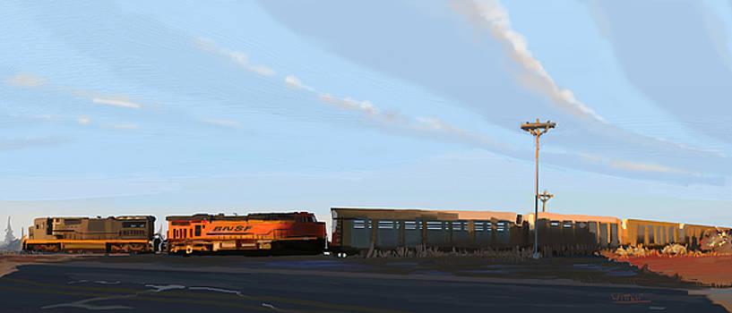 El Paso Train by  Edward Joel Wittlif