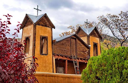 Robert Meyers-Lussier - El Santuario de Chimayo Study 1