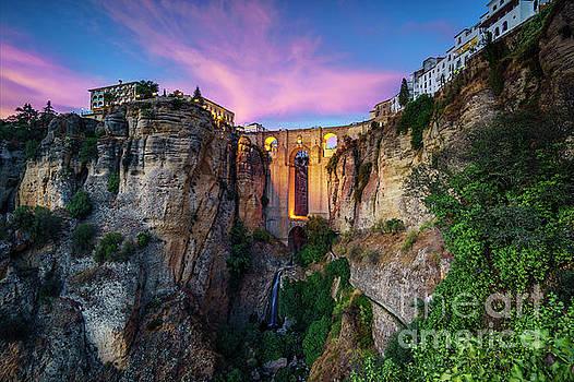 El Tajo Canyon of Ronda Malaga Spain by Pablo Avanzini