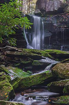 Elakala Falls by Ulrich Burkhalter