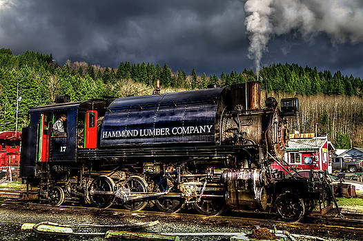 Elbe Steam Engine 17 HDR 2  by Rob Green